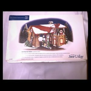 Dept 56 Orig Snow Village Last Stop Gas Station